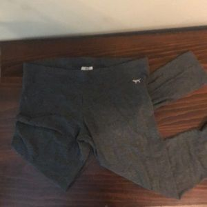 Victoria's Secret PINK grey leggings medium